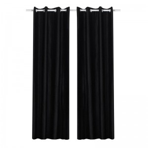 Opaque curtain with eyelets for fitting room 145 x 245 cm.