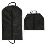 Nylon pouch for suits or dresses with zipper and handles