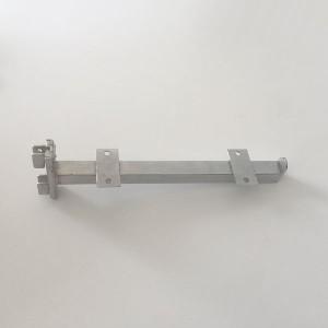 Gerade Unterstützt-Doppelregal für Reißverschluss