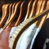 Striscia antiscivolo di silicone per incollare in le appendino