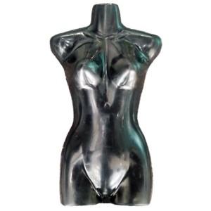 Cintre silhouette de femme demi-volume pour bikinis et maillots de bain. mod. 2