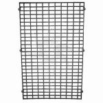 Iron mesh for shelves and gondolas