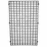 Iron mesh for shelves and gondolas
