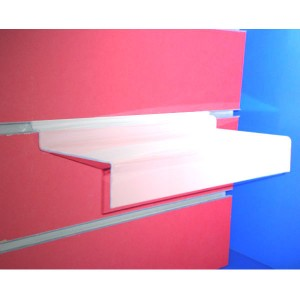 Footwear supports tray for panel slats