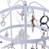 Exhibitor stand with two arms for jewelry