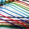 Seilabhänger ausgekleidet 33-42cm. für Reinigungen und Wäschereien