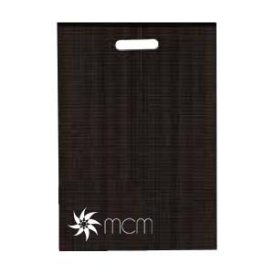 Stampa tampografica di sacchetti di carta, stampa del logo aziendale
