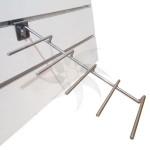 Ganxos múltiple de cinc varetes per exposar productes