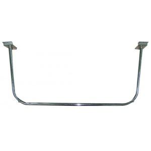 Hanging bar U shaped for slat panel