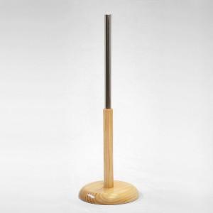 Base en bois conique hauteurs différentes