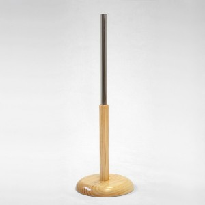 Conical wooden base various heights