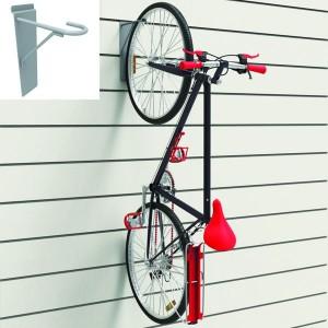 Ganxo expositor de bicicletes per panell de lama