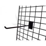 Steel mesh with double margin