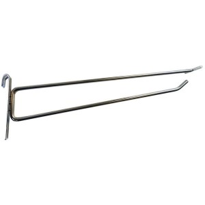 Ganchos simples para portaprecios para malla de acero modelo 2