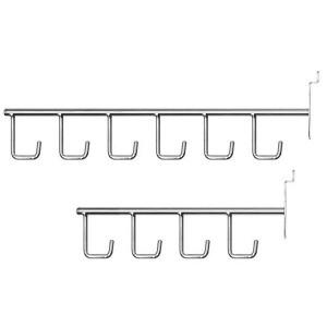 Crochets simples avec cintres pour panneau de lattes