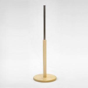 Base en bois ronde hauteurs différentes