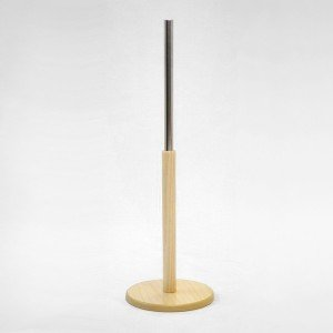 Base madera redonda diametro 24,5cm. varias alturas