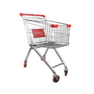 Carrello del supermercato di varie dimensioni