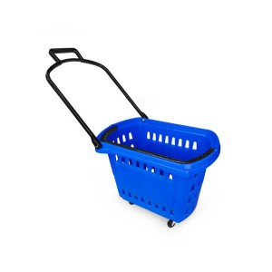 Supermarket basket various sizes and colors