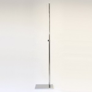 Rectangular metal base 100cm. metal mast 90cm. extensible