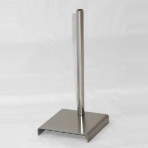 Base di metallo per busto miniatura altezza 28cm.