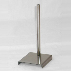 Metal base for mini bust form 28cm. height