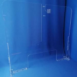 Mampara sobretaula o taulell per a protecció de l'contagi de virus MOD.2