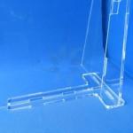 Mampara sobretaula o taulell per a protecció de l'contagi de virus mod.3 detall