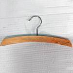 Percha de madera en arco para forrar 26-32-42 cm.
