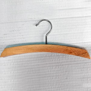 Arched wooden hanger for lining 26-32-42 cm.