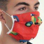 Wiederverwendbare hygienische KINDERmaske