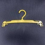 Transparent plastic hanger lingerie 25-27,5-30 cm.