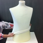 Cotton liner for Male bust form