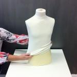 Cotton liner for Child bust form