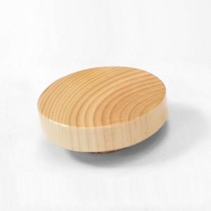 Tapa de madera plana para bustos