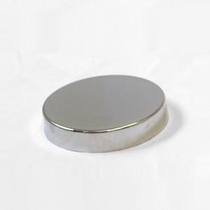 Flach Metall-kappe für Büsten