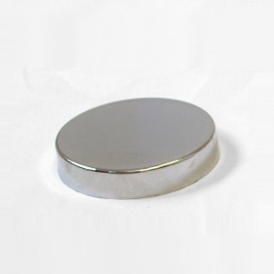 Flat metal cap for bust forms