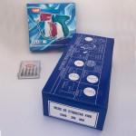 Pack Pistolet du navetes Mod. VAIL + 5 Aiguilles  + 5000 Navetes minces pour l'étiquetage ou marquage