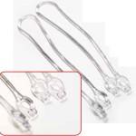 PVC-Streifen für Kunststoff-Kleiderbügel Hose