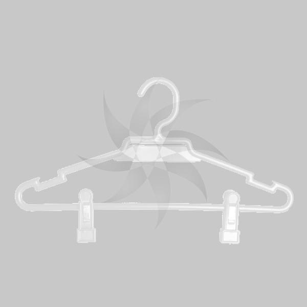 cintre en plastique ronde avec bar encoches et pinces 27 35 ou 40 cm mcm. Black Bedroom Furniture Sets. Home Design Ideas