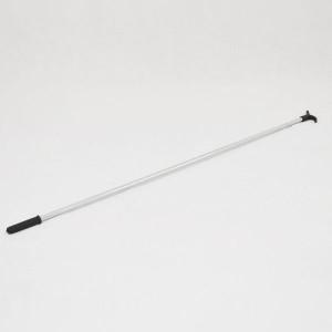 Pértiga barra para descolgar o colgar perchas 110cm.