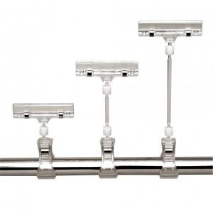 Preishalter mit clamp für Rohrdurchmesser 10-30mm