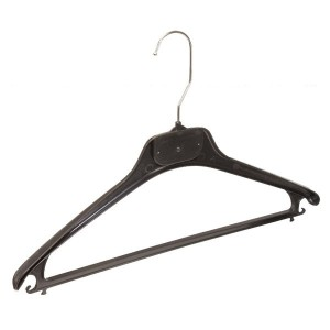 Plastic hanger for suit jacket and pants 40cm.