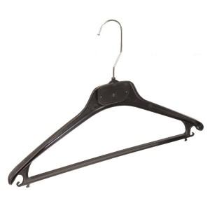 Kunststoff Kleiderbügel für Anzug, Jacke und Hose 40cm.