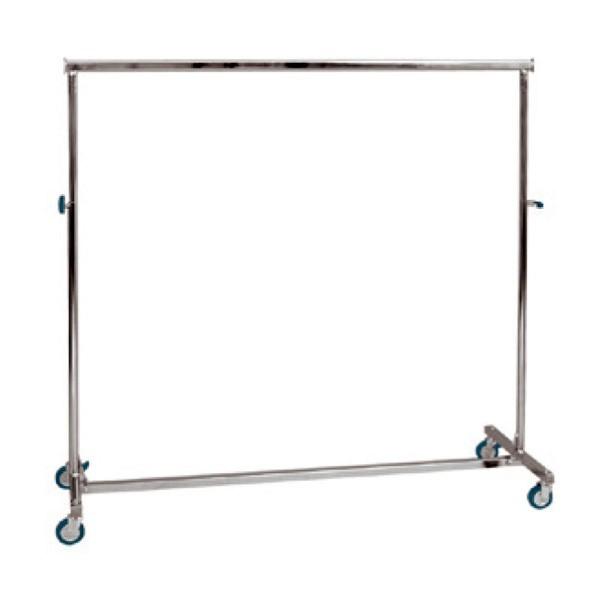 Metallklappkleiderständer 150cm Mit Rädern Höhenverstellbar Mcm