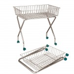 Large self-service multifunctional basket-cart