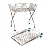 Large self-service multifunctional basket-cart