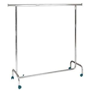 Penjador econòmic alçada fixa 150cm. de longitud amb rodes
