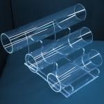 Expositor de polseres 3 tubs de 25-20-15cm. a diferents alçades