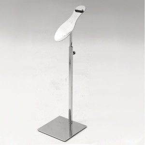 Stainless steel Shoe-display for table